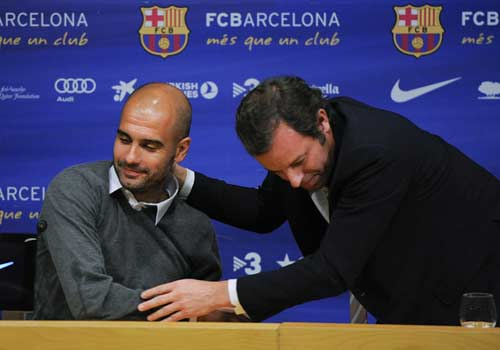 Guardiola chỉ trích dữ dội CT Barca - 1