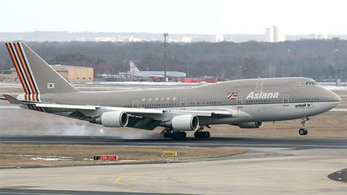 Máy bay Asiana Airlines lại gặp sự cố - 1