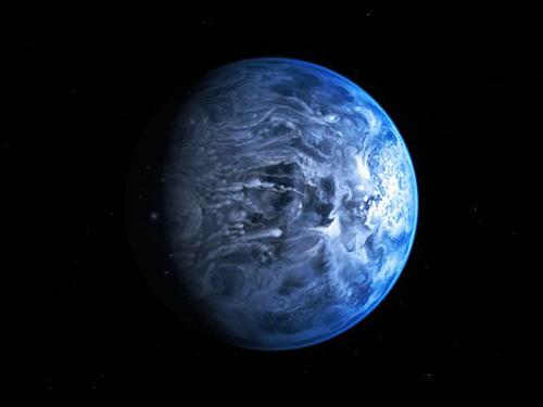 Phát hiện hành tinh xanh ngoài hệ Mặt trời - 1