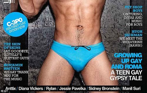 VĐV Anh khoe thân trên tạp chí đồng tính - 2