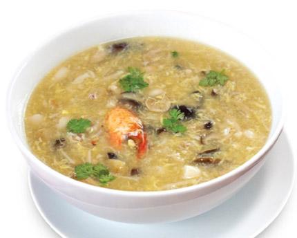 Cách làm súp nấm cua - 1