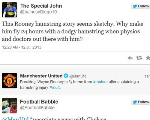 Rooney: Chấn thương hay lý do khác? - 2