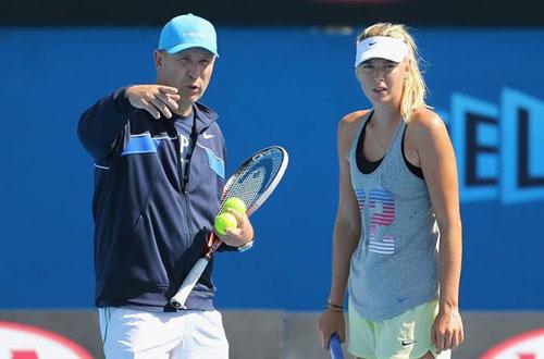 Sharapova chính thức chia tay HLV Hogstedt - 1