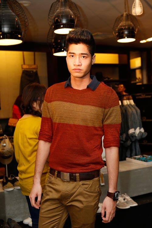 Thanh Hoài sexy với váy lệch vai - 13