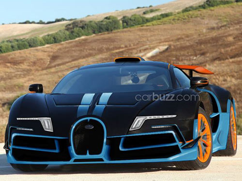Bugatti Veyron thế hệ tiếp theo lộ ảnh - 1