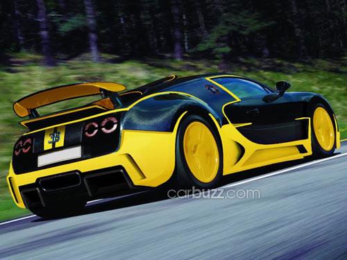 Bugatti Veyron thế hệ tiếp theo lộ ảnh - 2
