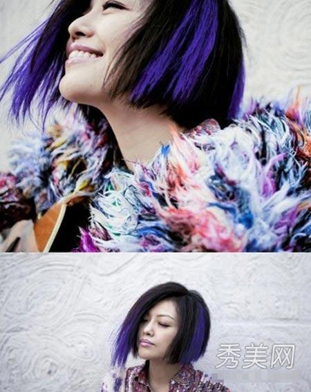 Những lọn tóc màu dễ thương của sao - 5