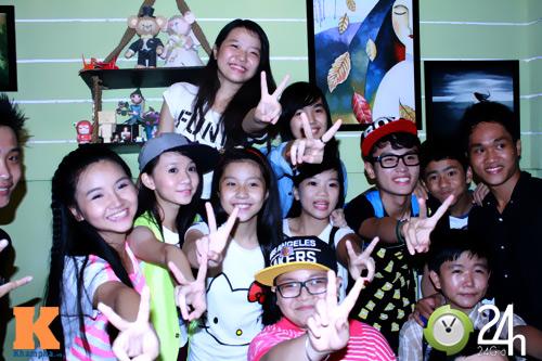 Quậy tưng cùng các thí sinh Giọng hát Việt nhí - 9