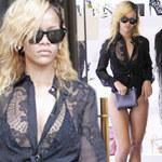 Thời trang - Rihanna liều lĩnh mặc bikini đi mua sắm!