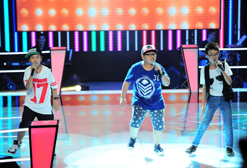 Hot boy nhí bùng nổ The Voice Kids - 2