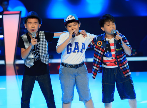 Hot boy nhí bùng nổ The Voice Kids - 1