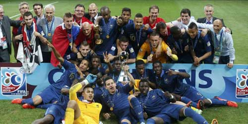 U20 Pháp – U20 Uruguay: Đấu súng - 1