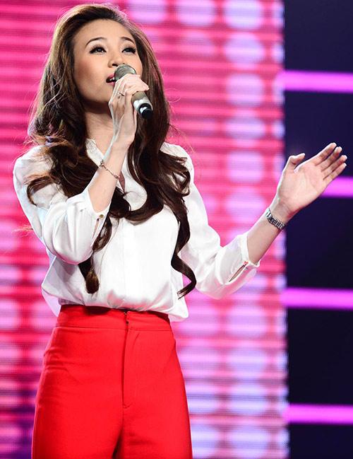 Hùng Thuận lép vế thí sinh The Voice - 7