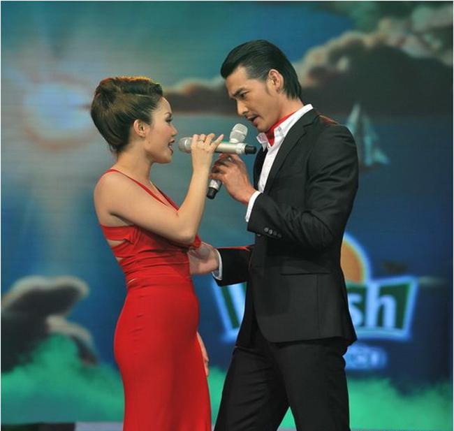 Đó là khi cả hai cùng nhau tham gia chương trình Cặp đôi hoàn hảo 2012