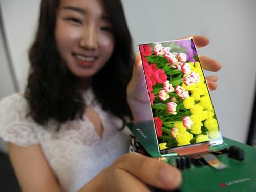 LG công bố màn hình Full HD mỏng nhất thế giới - 2