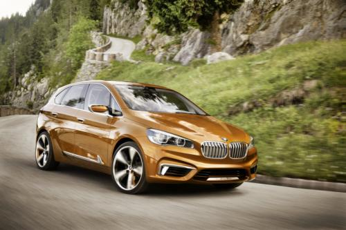 BMW Concept Active Tourer: Đẹp nhưng không sản xuất - 1
