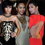 """Thời trang - """"Bỏng mắt"""" với váy hở của sao Việt"""