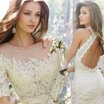 Thời trang - Váy cưới mùa thu cổ điển và sang trọng