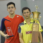 Thể thao - Cúp vô địch không về cùng Tiến Minh