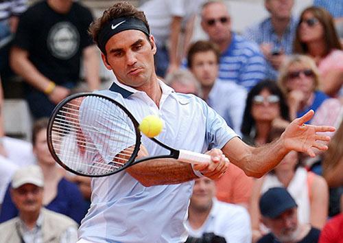 """""""Vua"""" Federer trả thanh kiếm Excalibur - 3"""