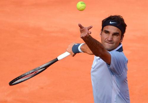 """""""Vua"""" Federer trả thanh kiếm Excalibur - 2"""