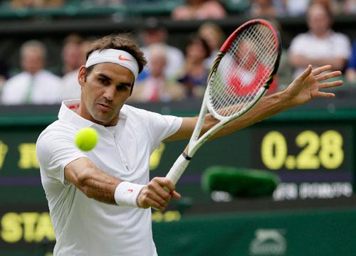 """""""Vua"""" Federer trả thanh kiếm Excalibur - 1"""