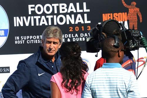 Man City quyết chơi hay vì Mandela - 1