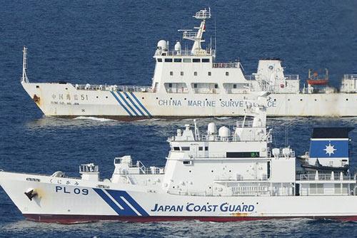 TT Nhật ra đảo gặp cảnh sát biển canh Senkaku - 3