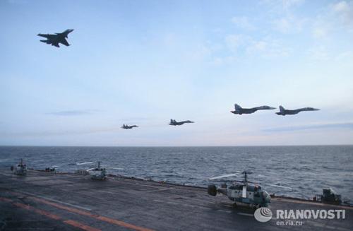 """Sức mạnh """"khủng"""" của Không quân Hải quân Nga - 4"""