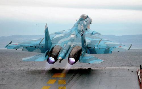 """Sức mạnh """"khủng"""" của Không quân Hải quân Nga - 7"""
