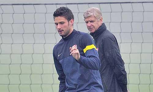 Arsenal - Wenger: Cần tin Giroud - 1