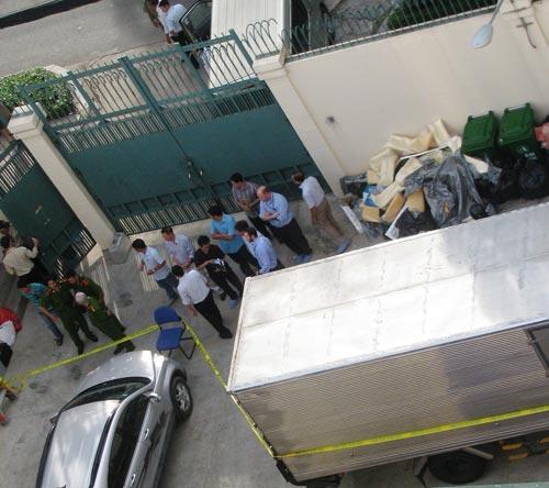 Nổ tại kho của Tổng lãnh sự quán Mỹ tại TPHCM - 1