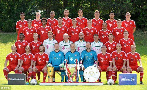 """""""Ma trận"""" biến ảo của Bayern - Pep - 1"""