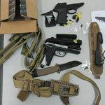 An ninh Xã hội - Nhập khẩu trái phép vũ khí, công cụ hỗ trợ