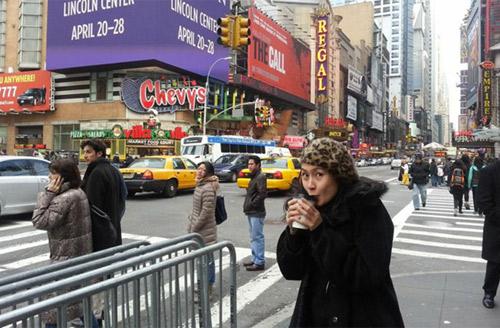 """""""Âm mưu giày gót nhọn"""" tuyệt đẹp tại New York - 7"""