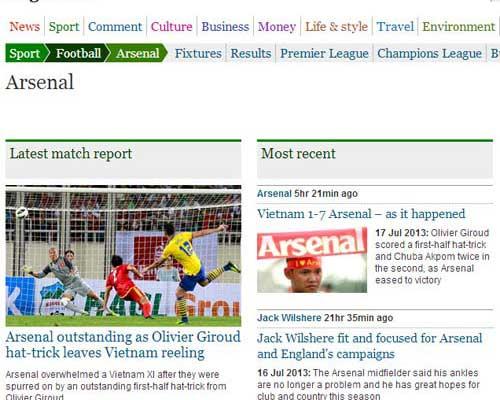 'Pháo thủ' 'bắn' bóng đá Việt Nam đến trời Âu - 1