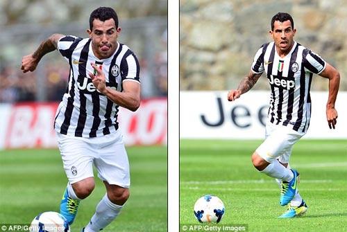 Juventus - Val D`Aosta: Tevez nổ súng - 1