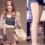 Thời trang - Khoe chân nổi bật như fashionista Lào