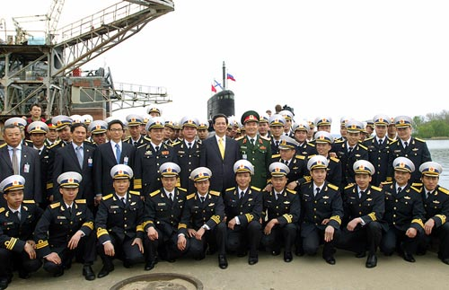 Tháng 11, VN sẽ đào tạo thủy thủ tàu ngầm - 1