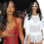 Thời trang - Mốt khoe áo ngực táo bạo của Rihanna