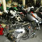 """Tin tức trong ngày - Giữ hàng trăm mô tô """"khủng"""" ở cảng Hải Phòng"""