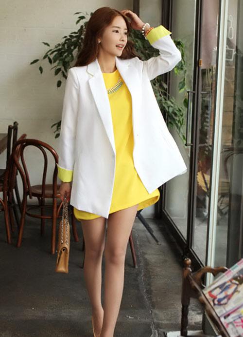 Áo khoác nhẹ nữ tính cho mùa thu - 3