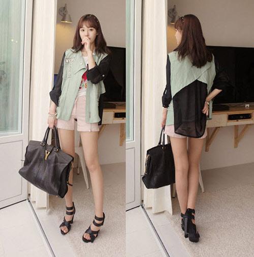 Áo khoác nhẹ nữ tính cho mùa thu - 15