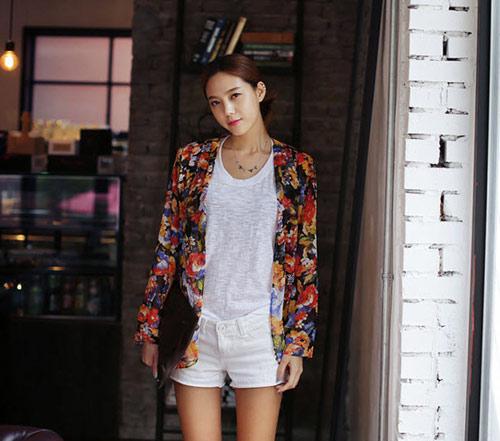 Áo khoác nhẹ nữ tính cho mùa thu - 6
