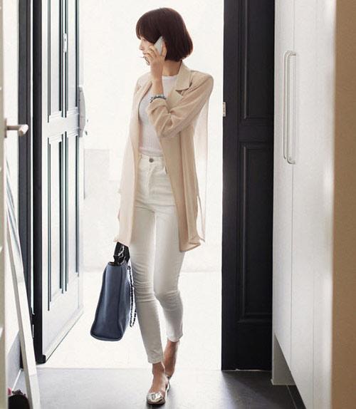 Áo khoác nhẹ nữ tính cho mùa thu - 11