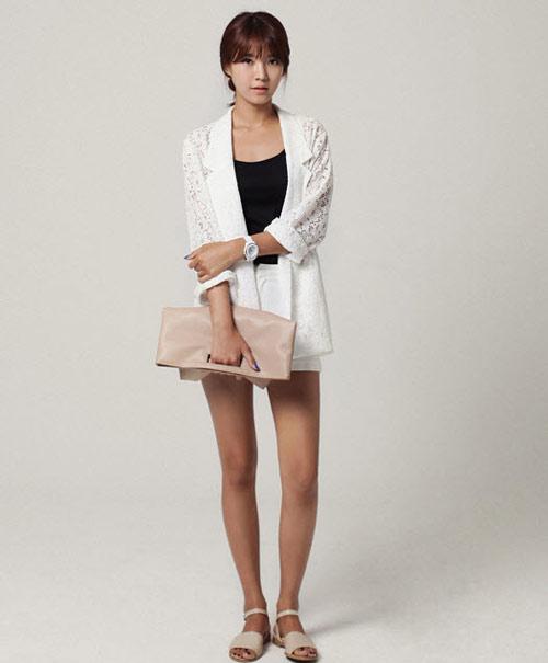 Áo khoác nhẹ nữ tính cho mùa thu - 10