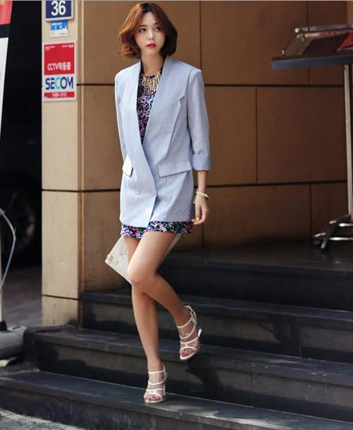 Áo khoác nhẹ nữ tính cho mùa thu - 4