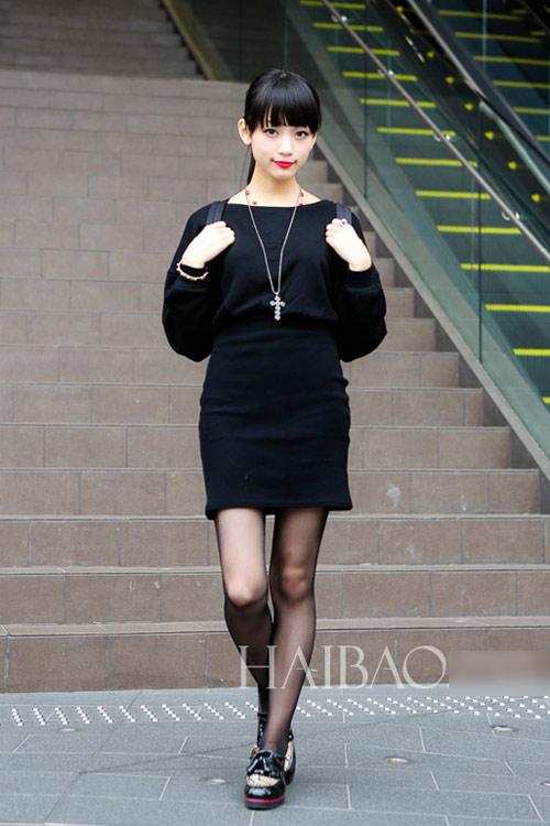 Bạn gái Nhật Bản cá tính đón Thu - 8