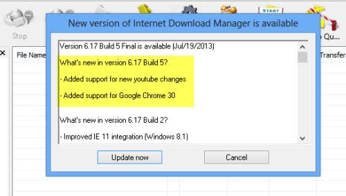 IDM 6.17 Build 5 hỗ trợ tải video YouTube tốt hơn - 1