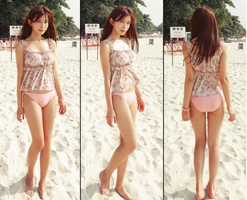 Bikini cạp cao khéo che bụng mỡ - 14